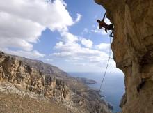 La sécurité en escalade de falaise